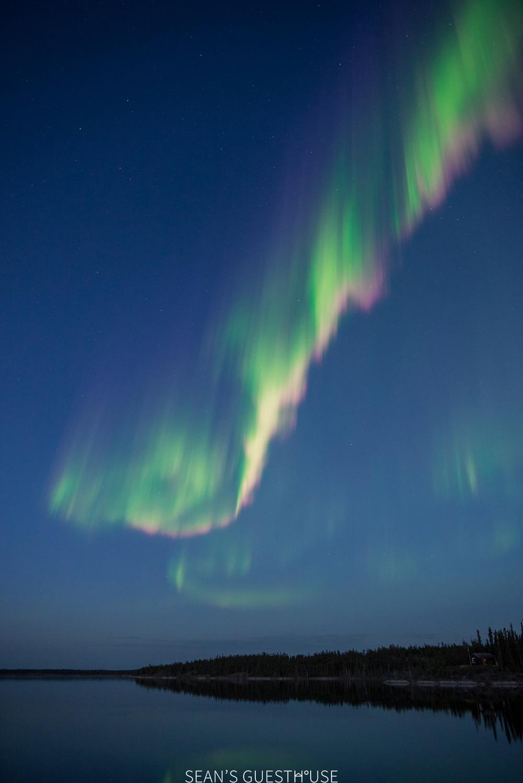 Yellowknife Northern Lights Tours - Sean's Guesthouse August Aurora - 2.jpg