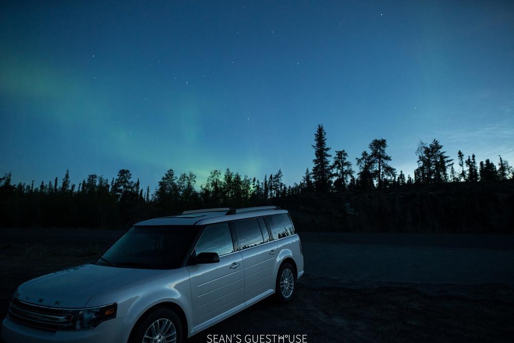 Yellowknife Northern Lights Tours - Sean's Guesthouse August Aurora - 6.jpg