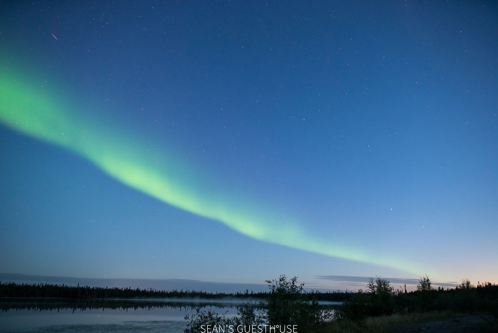 Sean's Guesthouse - Yellowknife Northern Lights - Summer Aurora - 1.jpg