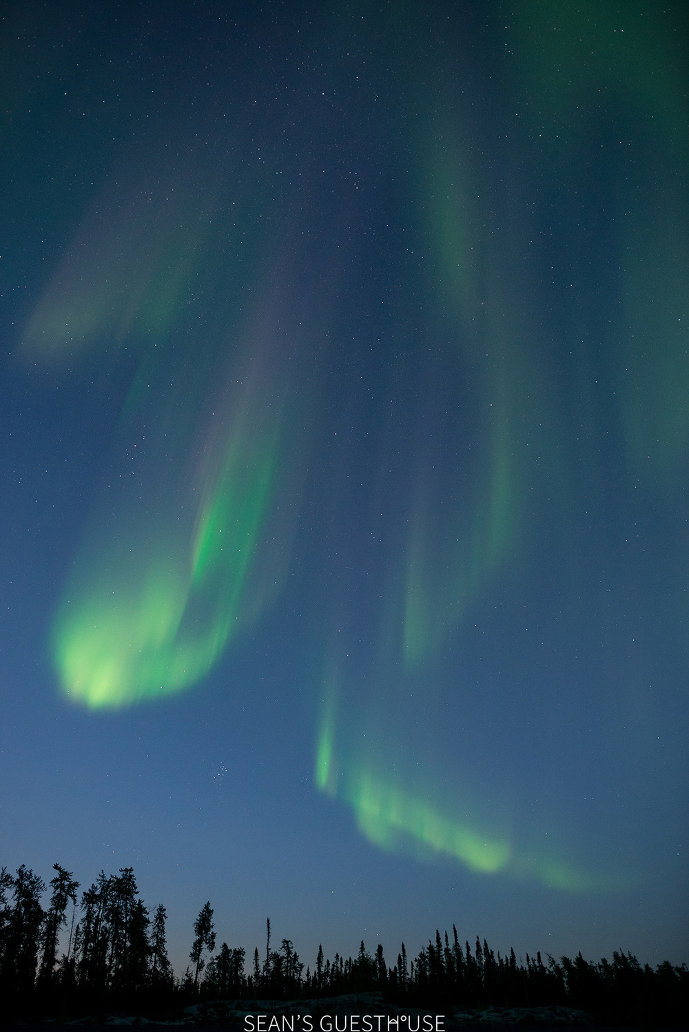 Sean's Guesthouse - Yellowknife Northern Lights - Summer Aurora - 4.jpg