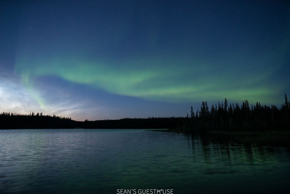 Sean's Guesthouse - Yellowknife Northern Lights Tour - August Aurora - 2.jpg
