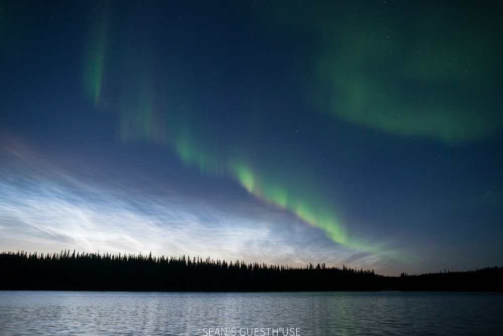 Sean's Guesthouse - Yellowknife Northern Lights Tour - August Aurora - 4.jpg