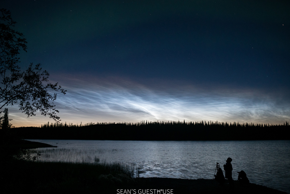 Sean's Guesthouse - Yellowknife Northern Lights Tour - August Aurora - 5.jpg