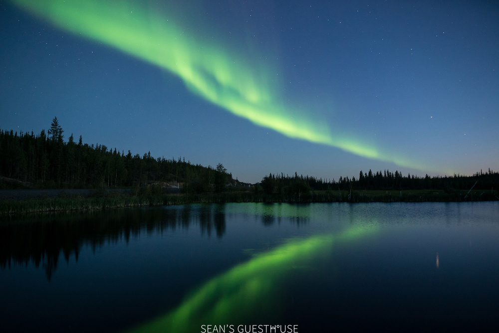 Sean's Guesthouse - Yellowknife Northern Lights Tour - August Aurora - 6.jpg