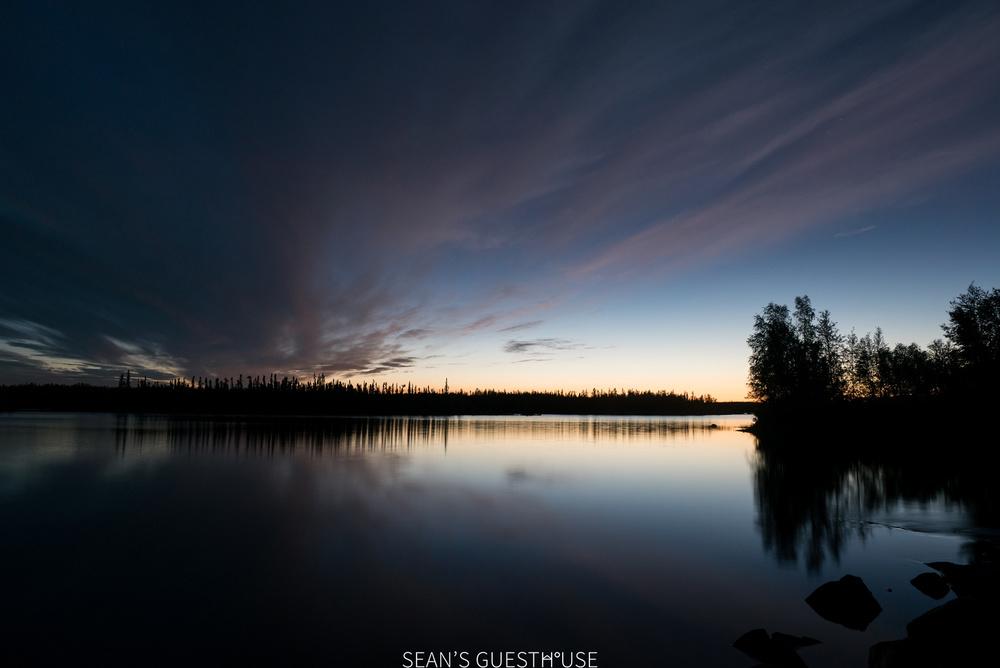 Sean's Guesthouse - Yellowknife Northern Lights Autumn - 2.jpg