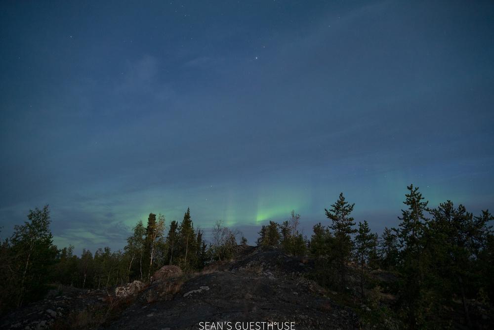 Sean's Guesthouse - Yellowknife Northern Lights Autumn - 3.jpg