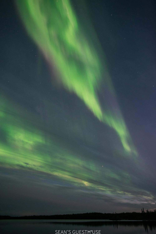 Sean's Guesthouse - Yellowknife Northern Lights Autumn - 7.jpg