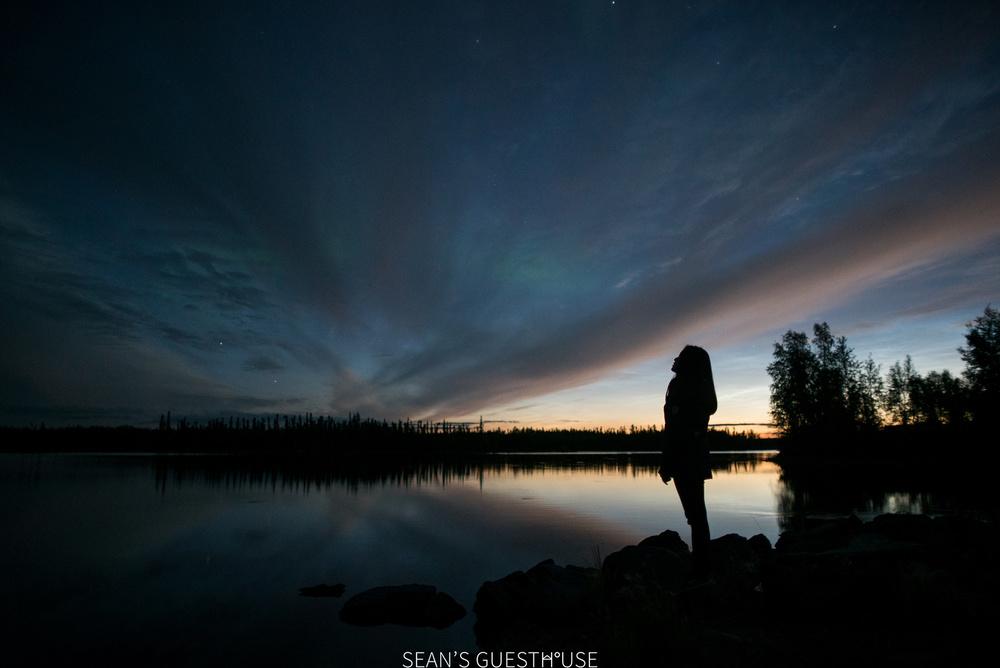 Sean's Guesthouse - Yellowknife Northern Lights Autumn - 9.jpg