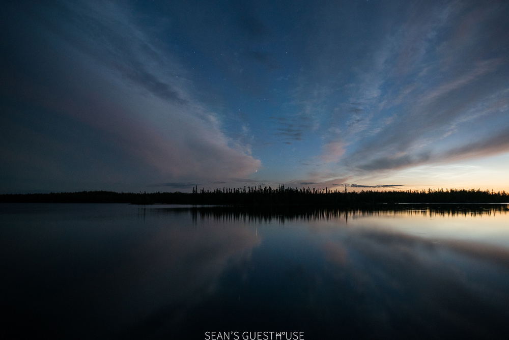 Sean's Guesthouse - Yellowknife Northern Lights Autumn - 11.jpg