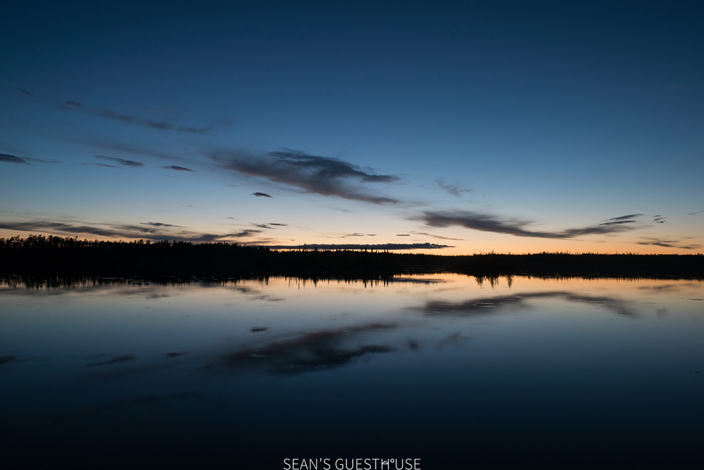 Sean's Guesthouse - Yellowknife Northern Lights and Perseid Meteor Shower - 1.jpg