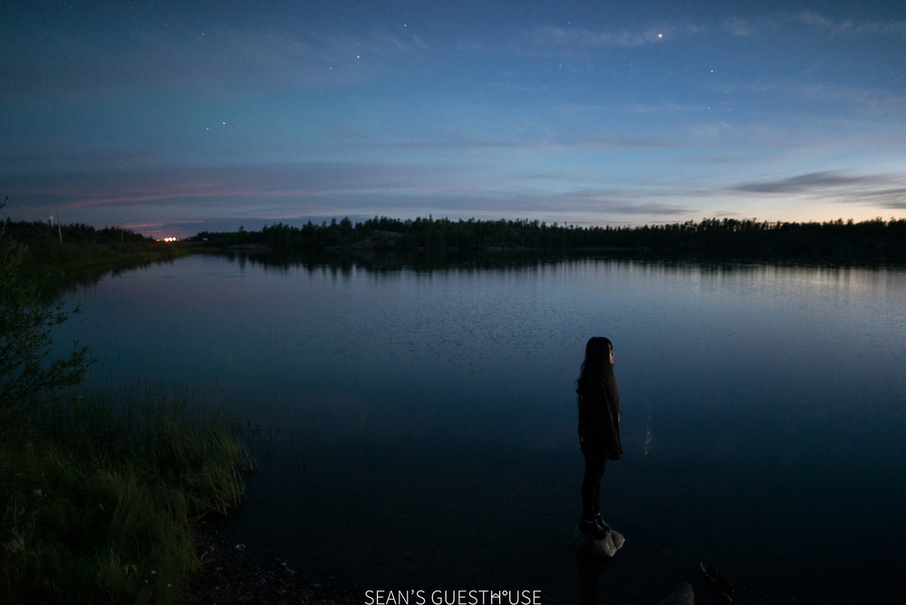 Sean's Guesthouse - Yellowknife Northern Lights and Perseid Meteor Shower - 2.jpg