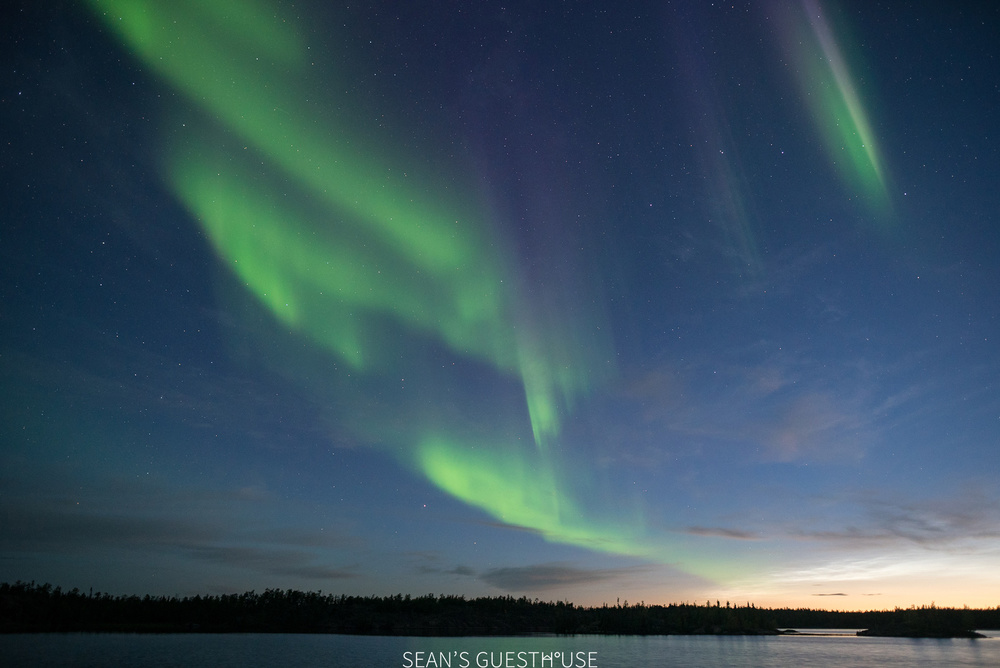 Sean's Guesthouse - Yellowknife Northern Lights and Perseid Meteor Shower - 4.jpg