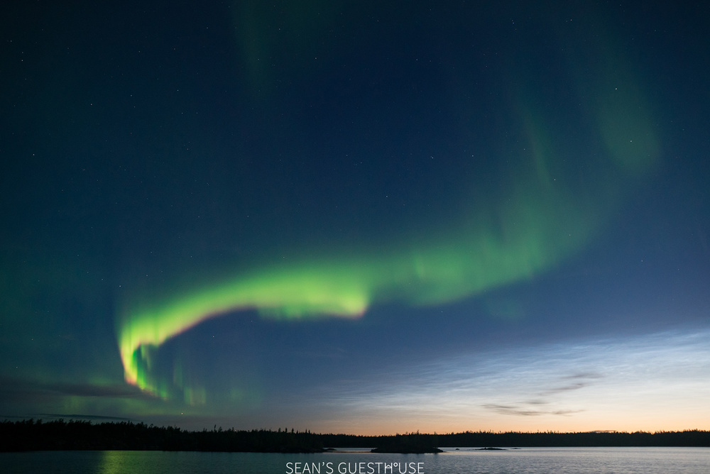 Sean's Guesthouse - Yellowknife Northern Lights and Perseid Meteor Shower - 11.jpg