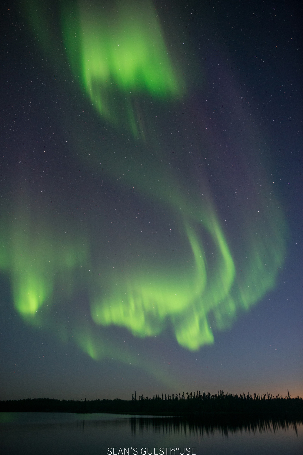 Sean's Guesthouse - Yellowknife Aurora Borealis - August Aurora - 5.jpg