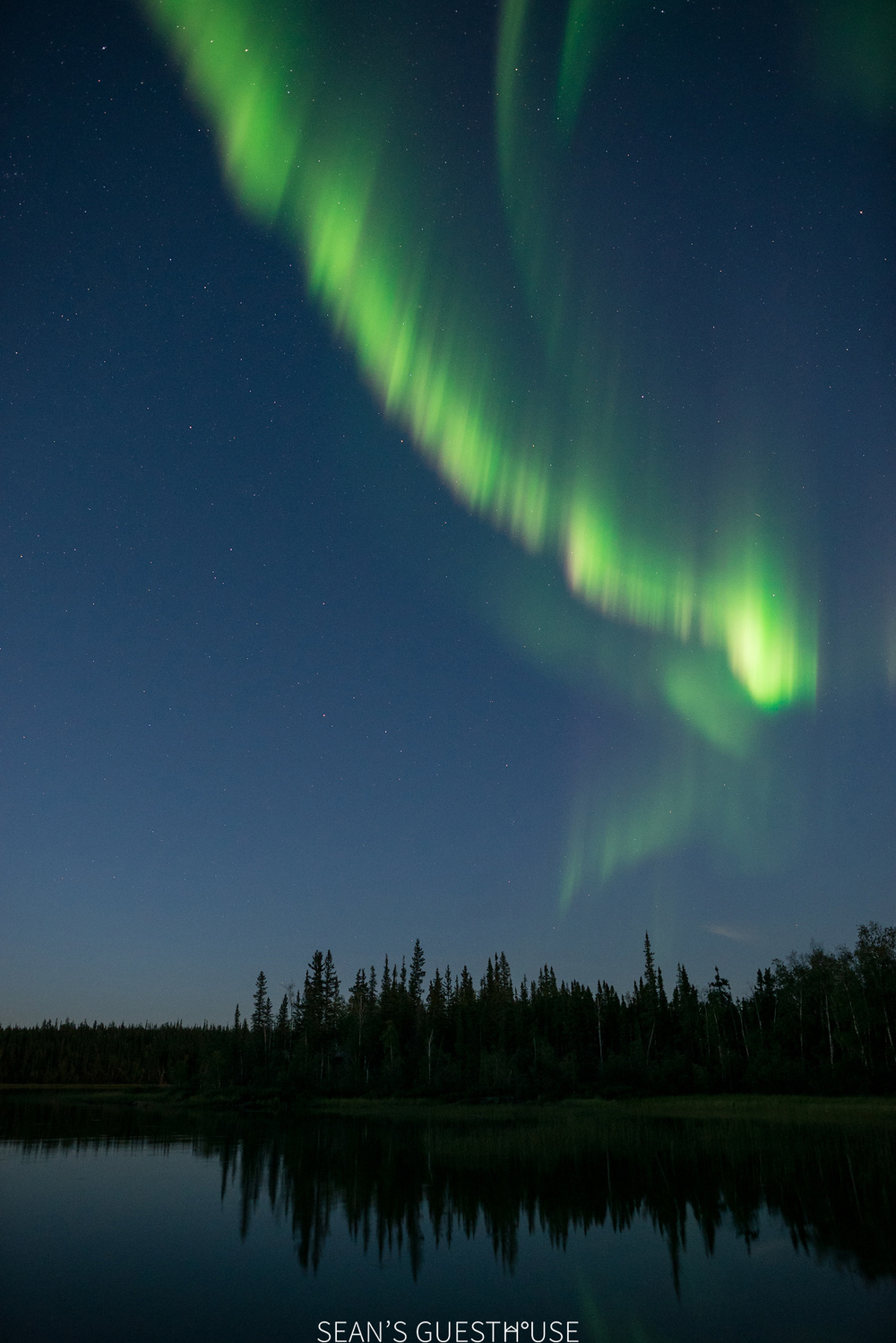 Yellowknife Northern Lights - August Aurora Borealis - Sean's Guesthouse - 2.jpg