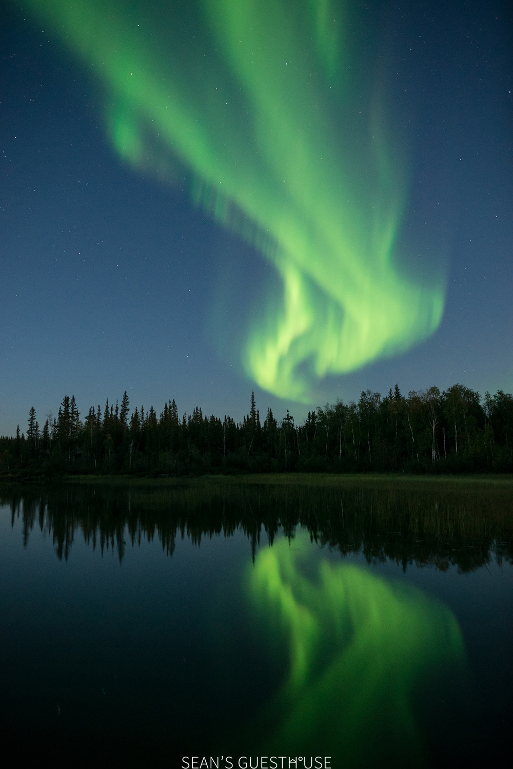 Yellowknife Northern Lights - August Aurora Borealis - Sean's Guesthouse - 3.jpg