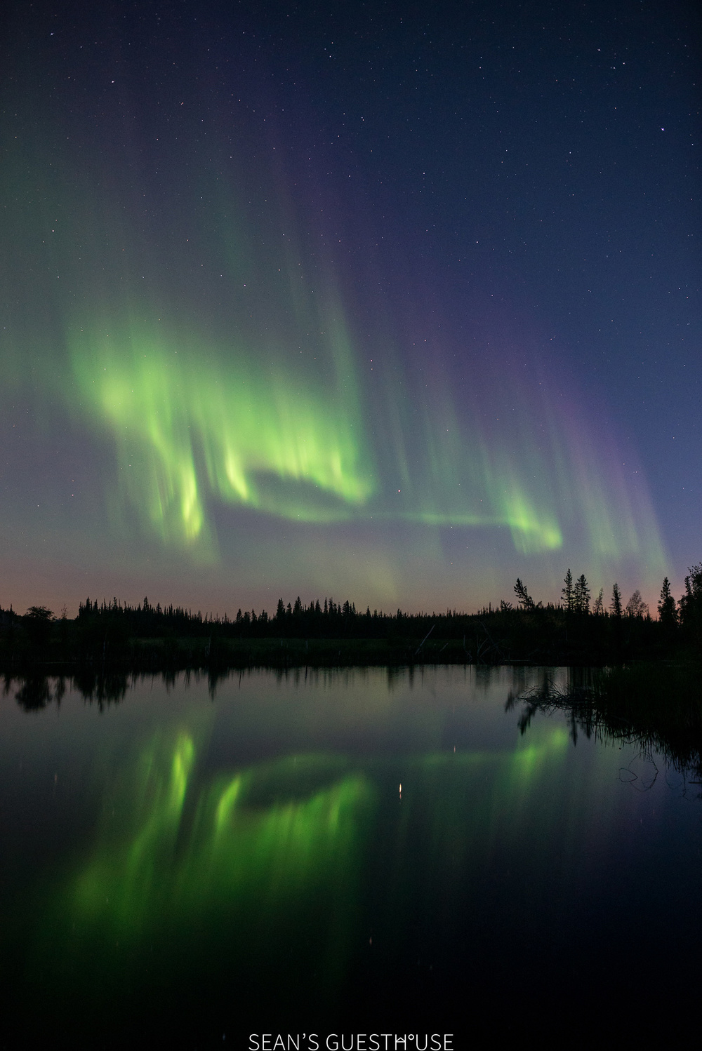 Yellowknife Northern Lights - August Aurora Borealis - Sean's Guesthouse - 4.jpg