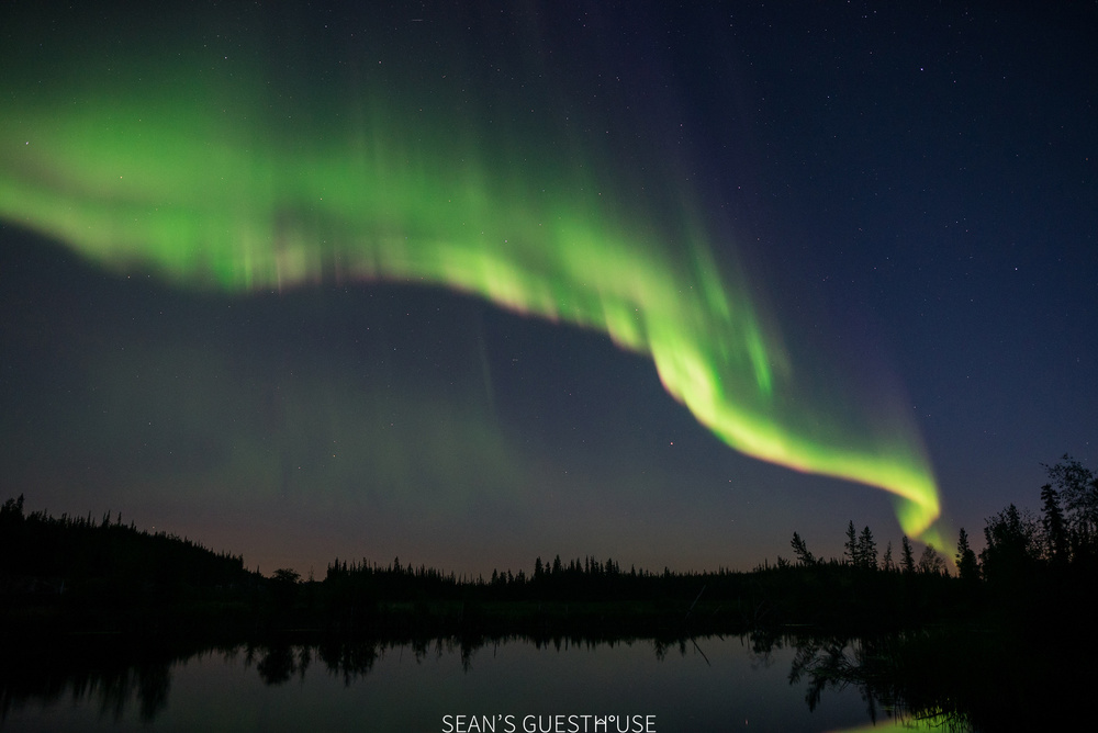 Yellowknife Northern Lights - August Aurora Borealis - Sean's Guesthouse - 5.jpg
