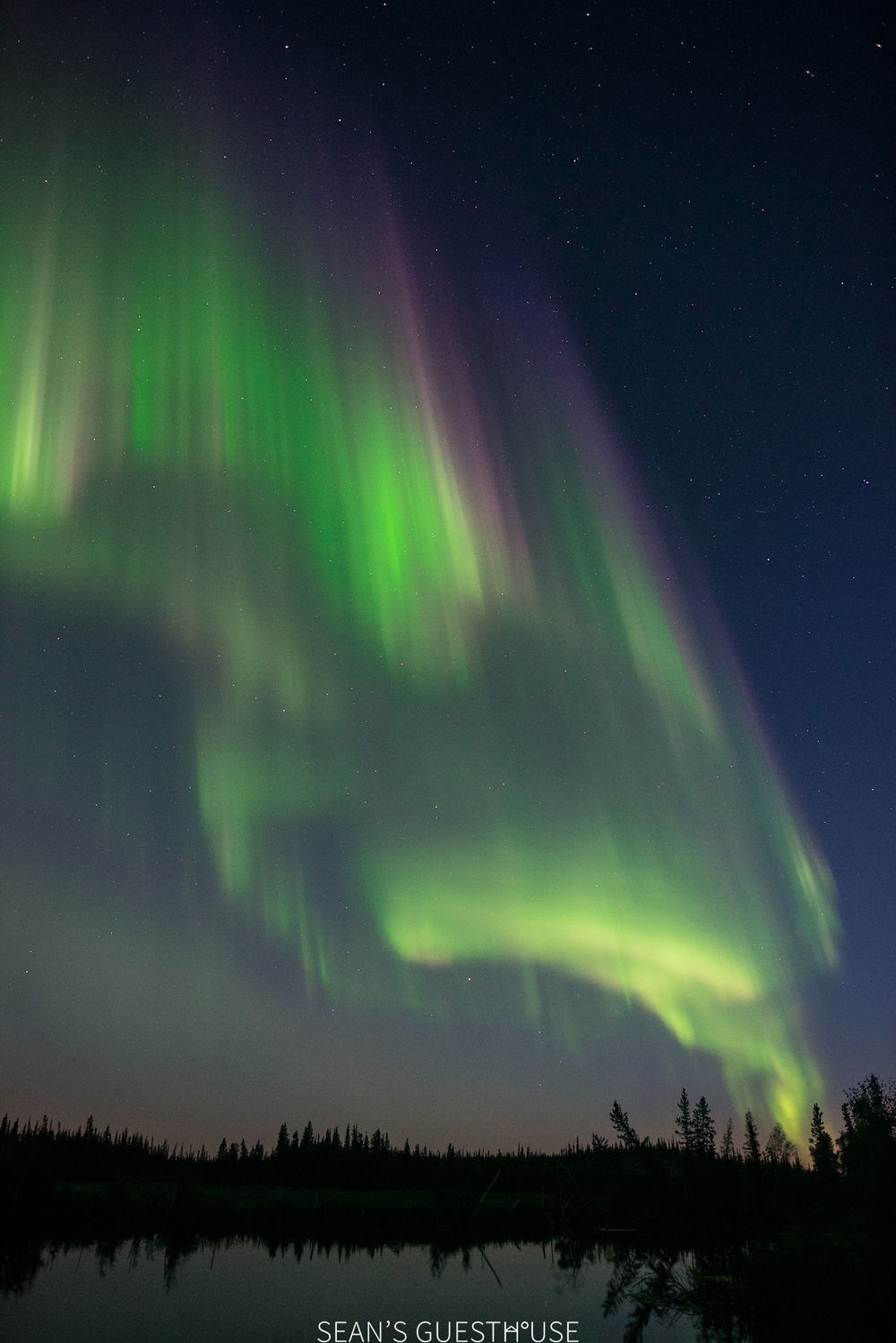 Yellowknife Northern Lights - August Aurora Borealis - Sean's Guesthouse - 6.jpg