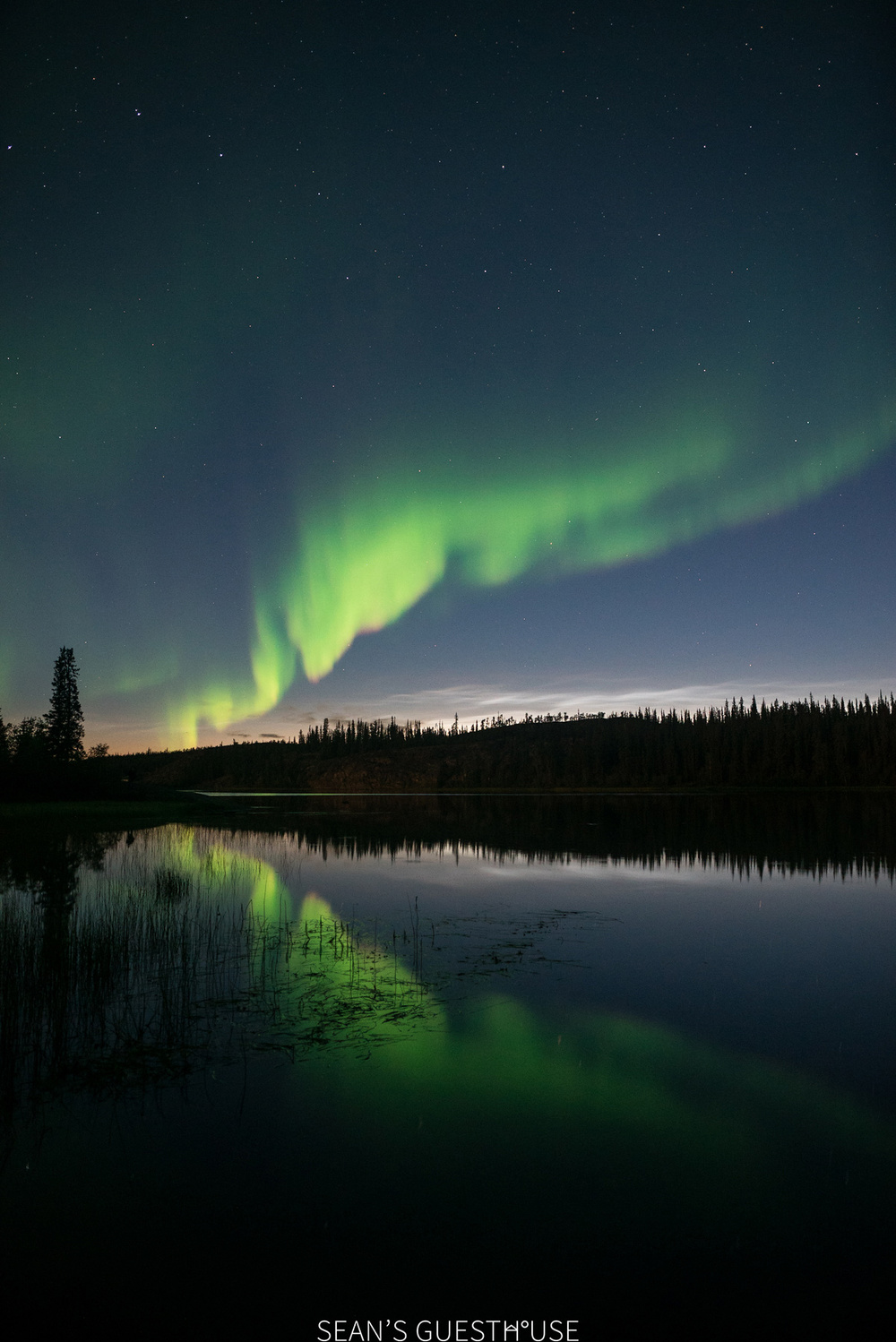 Yellowknife Northern Lights - August Aurora Borealis - Sean's Guesthouse - 8.jpg