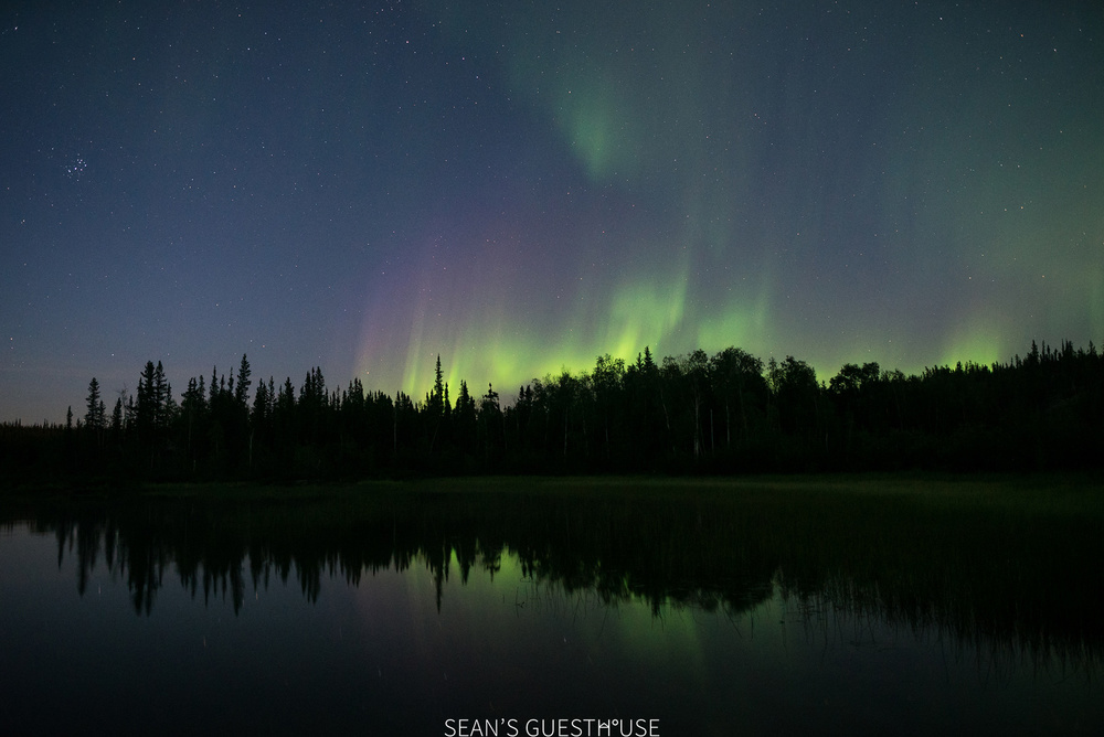 Yellowknife Northern Lights - August Aurora Borealis - Sean's Guesthouse - 9.jpg