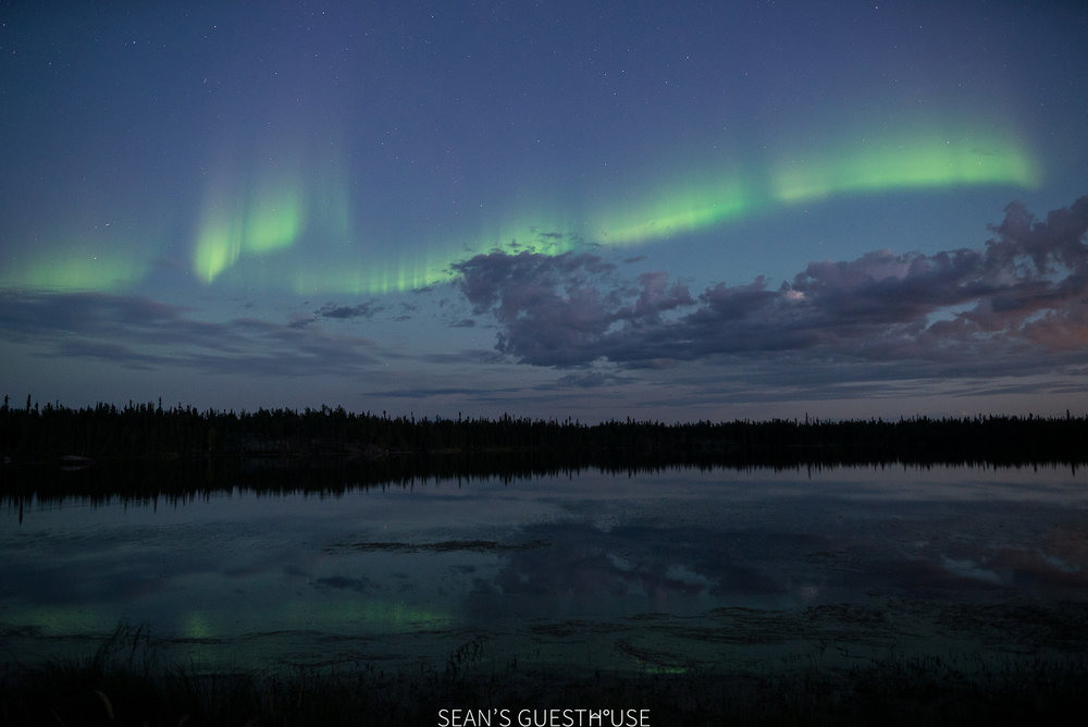 Sean's Guesthouse - August Northern Lights Yellowknife - 2.jpg