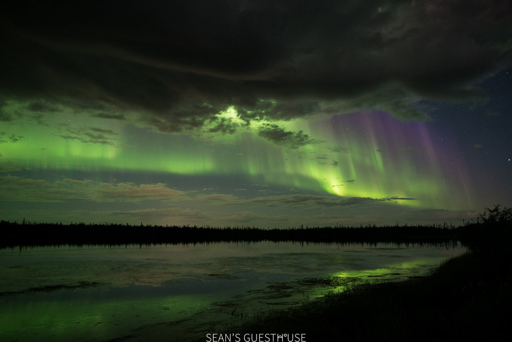 Sean's Guesthouse - August Northern Lights Yellowknife - 3.jpg