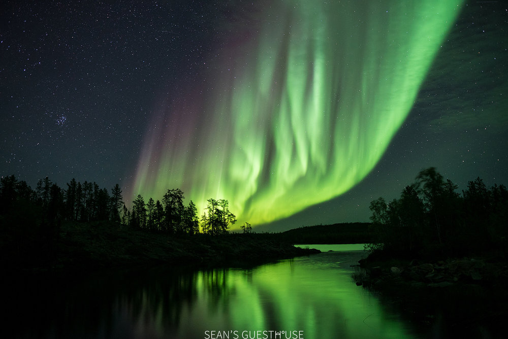Sean's Guesthouse - Autumn Northern Lights Canada - 3.jpg