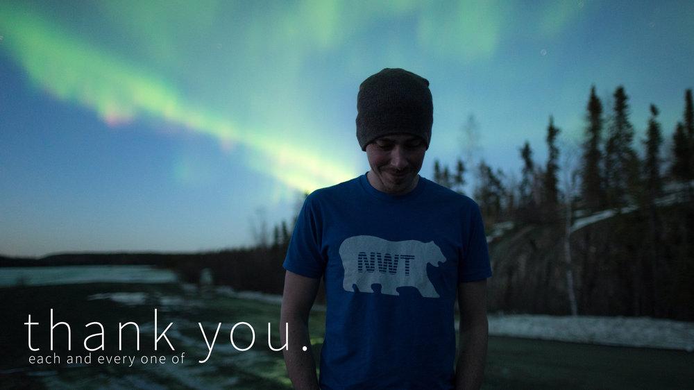 Yellowknife Aurora Hunting Tour - Sean Norman thanks you.jpg