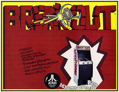 스티브 잡스가 아타리에서 만든 게임, 브레이크아웃. 1976년에 출시되었다.  스티브 잡스의 인생을 다룬 영화 <잡스>에서도 이 게임의 개발에 얽힌 일화가 등장한다. 잡스의 절친인 워즈니악이 실질적인 개발을 했다는 것이다. 구글은 브레이크아웃의 이미지 검색 페이지에 이 게임을 기념하는 의미로 깜짝 선물을 넣어두었다. 브레이크아웃을 검색하면, 검색 결과 속의 이미지들을 블럭으로 활용해 게임을 플레이해볼 수 있게 해둔 것이다.  이 곳 에서 이미지 검색을 클릭하면 게임을 플레이해볼 수 있다