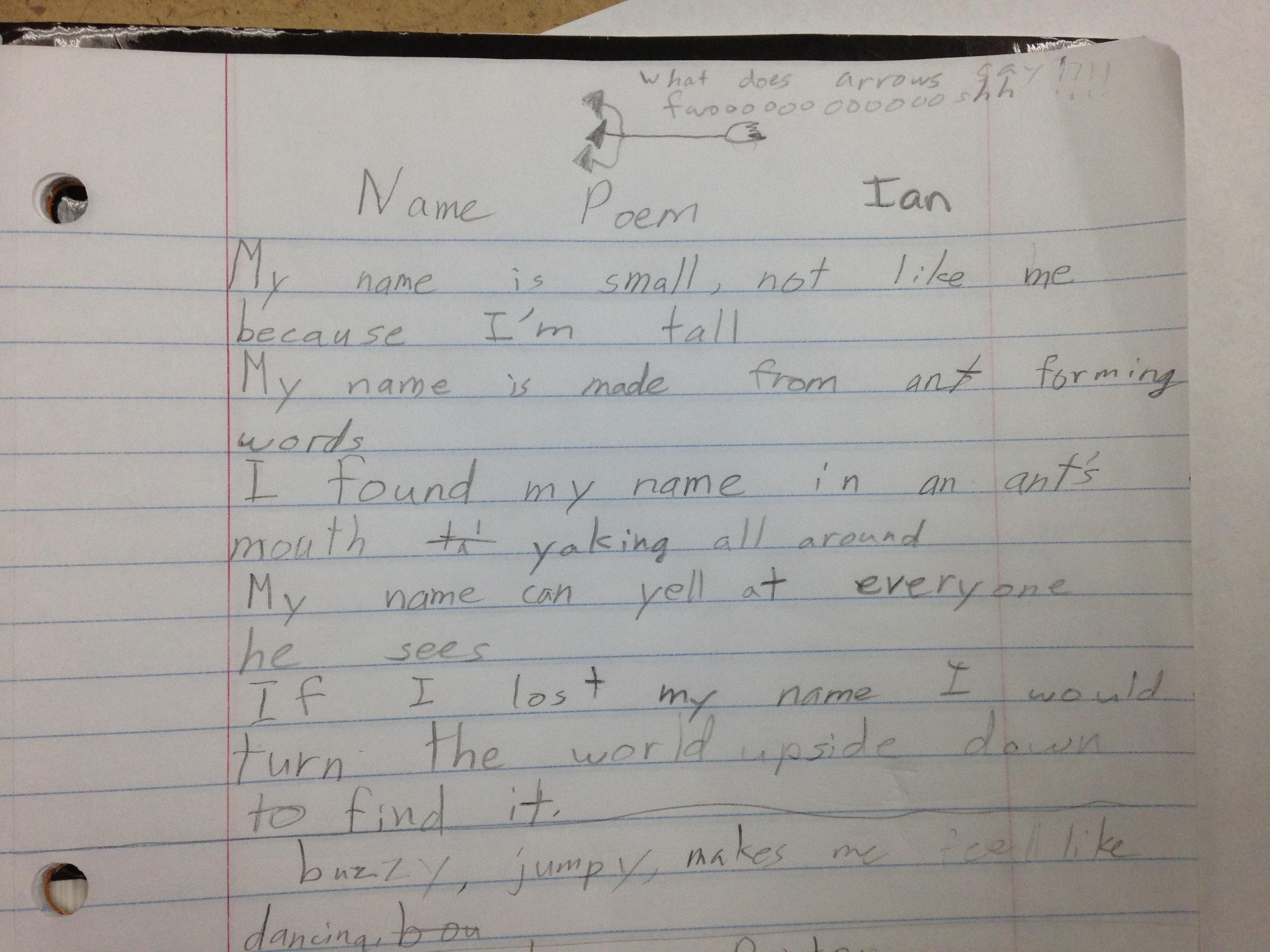 Ian My Name Is