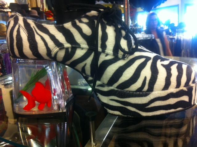 WNWW Zebra Shoe