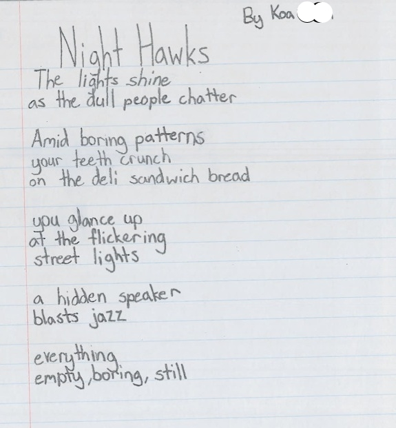 Night Hawks by Koa