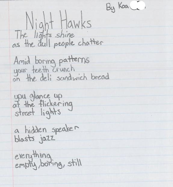 Night Hawks by Koa