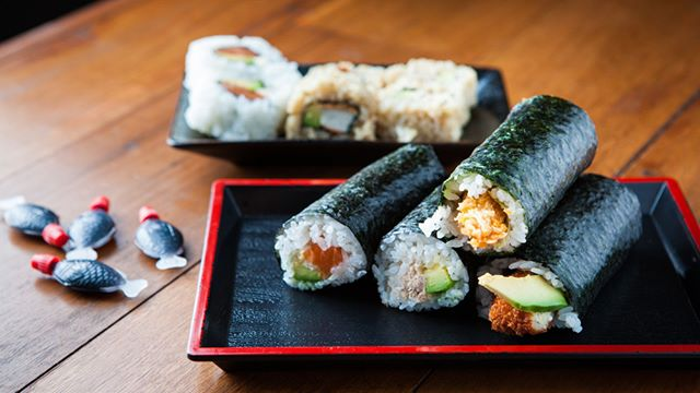 I'm soy into you, sushi 🍙 Fresh sushi from My Sushi Rolls #The4217