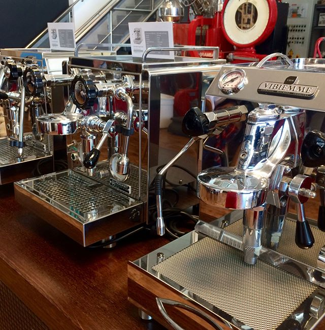 Want a coffee machine for your home? Hit up @paradoxcoffeeroasters and browse their selection of Italian and Spanish machines. #The4217
