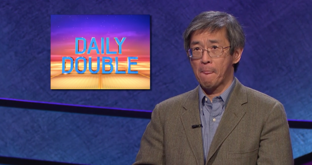 Philip Tiu, a math professor famous for mentioning Canada on some gameshow.  Jeopardy!/Twitter