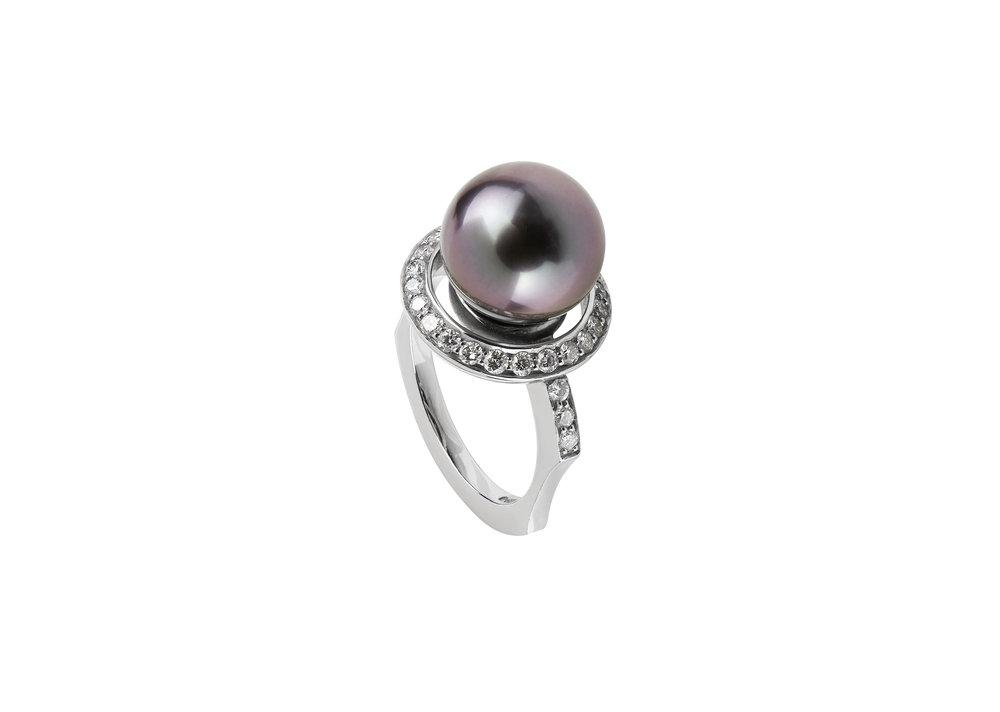 Luke Goldsmith Bespoke Design Spherical Ring