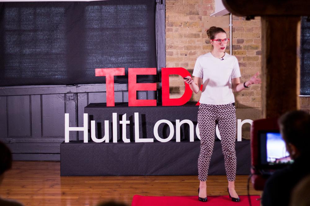 Sharingmy idea at TEDxHultLondon