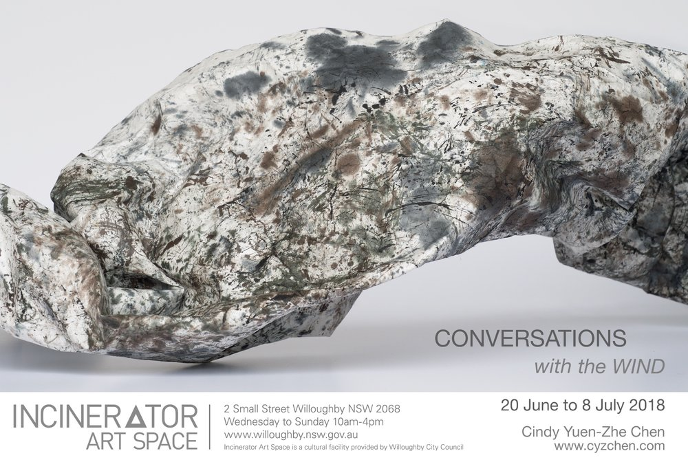 Conversations with the Wind - Cindy Yuen-Zhe Chen's exhibition of experimental drawings, video and sound installations.JUNE 20 to JULY 8.Opening Event: Saturday 23rd June 2-5pm       Drawing Feedback performance at 3:30pm.
