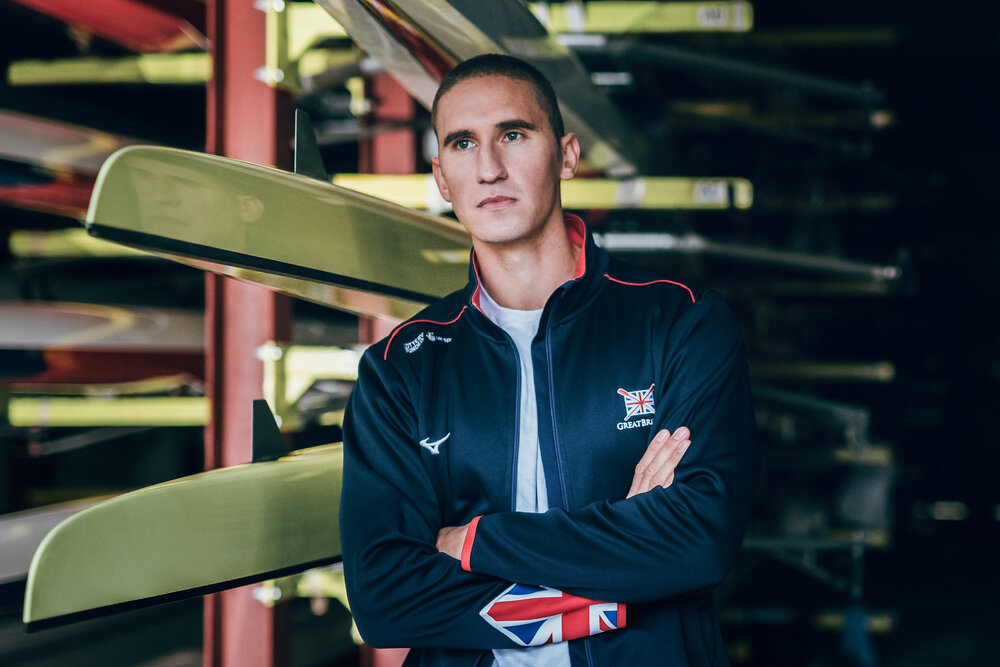GB rower Lance Tredell
