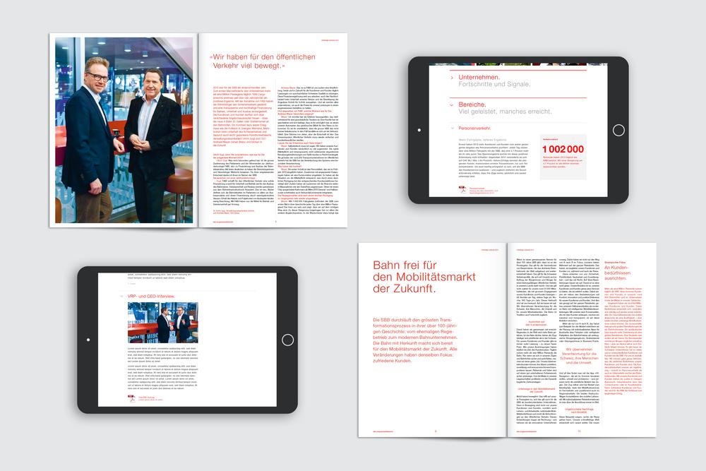 Mobile Report für SBB