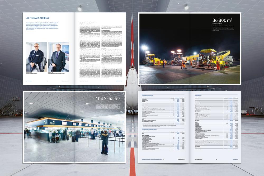 Flughafen Zürich, Geschäftsbericht 2014