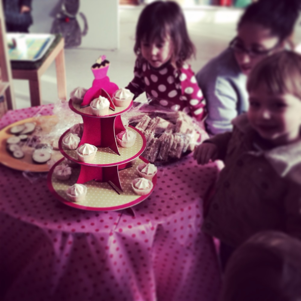 Mums Afternoon Tea Party in nursery
