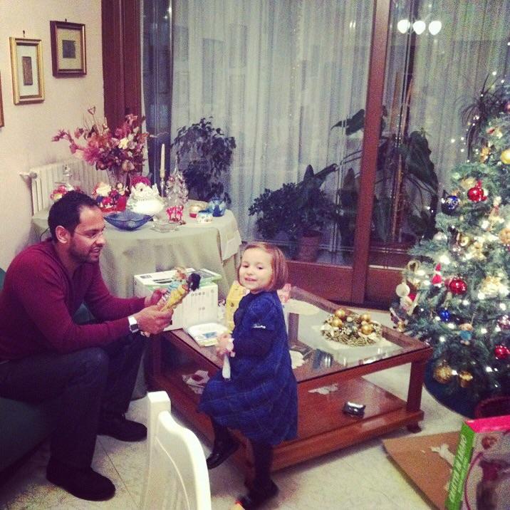 Zi/Mariele Ventre con mia nipote Martina