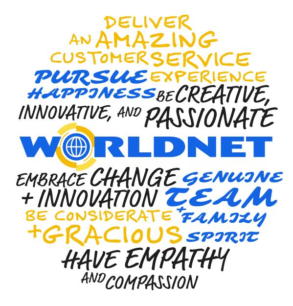 Worldnet Core Values