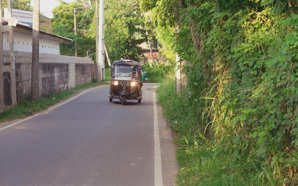 Tuk Tuk - Mirissa, Sri Lanka
