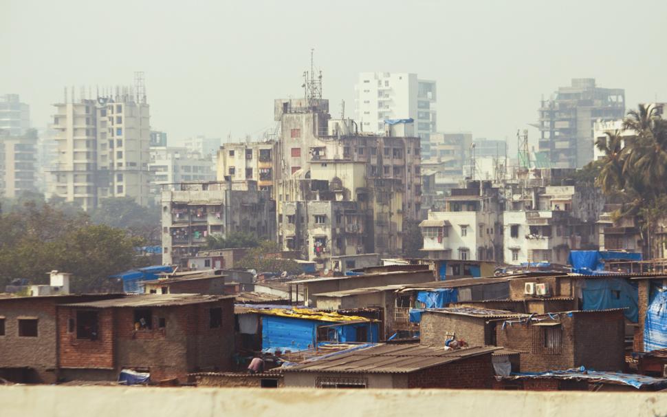 Slum- Mumbai, India