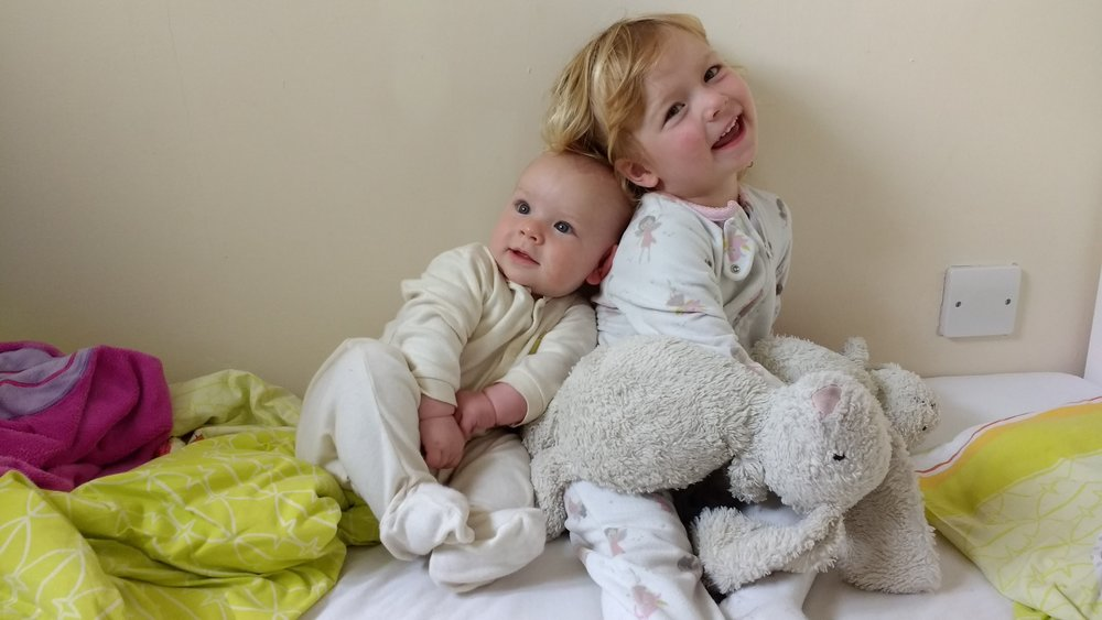 My 2 hypnobirthing babies! You can read all about how hypnobirthing helped me stay calm and in control of my births even when things didn't go to plan.