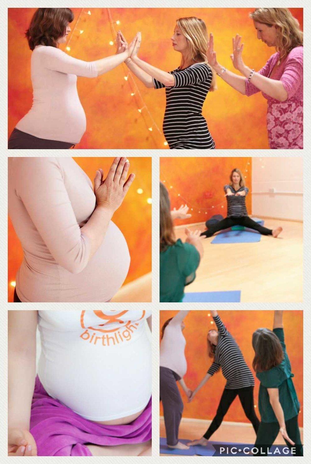 pregnancy yoga Cardiff